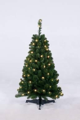 Arctic Spruce Pre Lit Warm LED 120cm